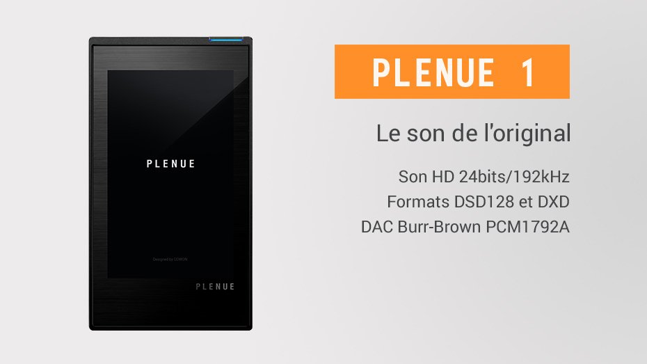 baladeur audiophile Plenue 1